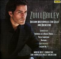 Zuill Bailey: Russian Masterpieces for Cello and Orchestra - Matteo Goffriller (cello maker); Zuill Bailey (cello); San Francisco Ballet Orchestra; Martin West (conductor)
